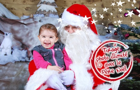 Stand photo pere noel